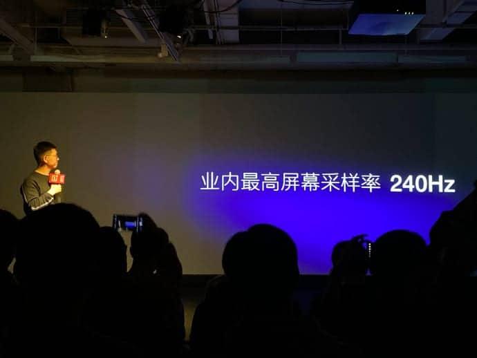 OnePlus 120Hz display announcement 3