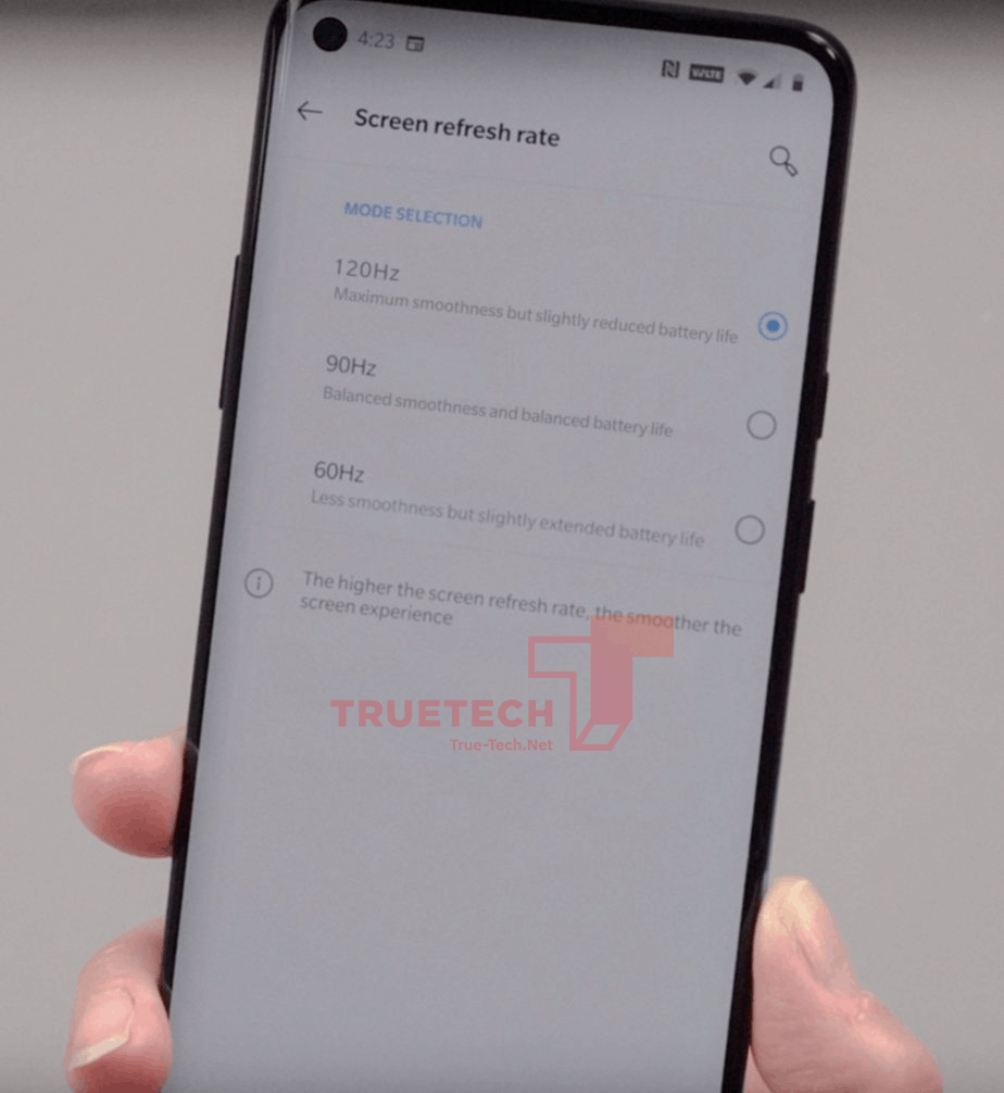 OnePlus 8 Pro live image alleged