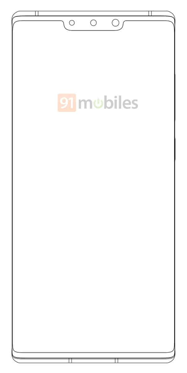 Possible Huawei Mate 40 Pro sketch image 2