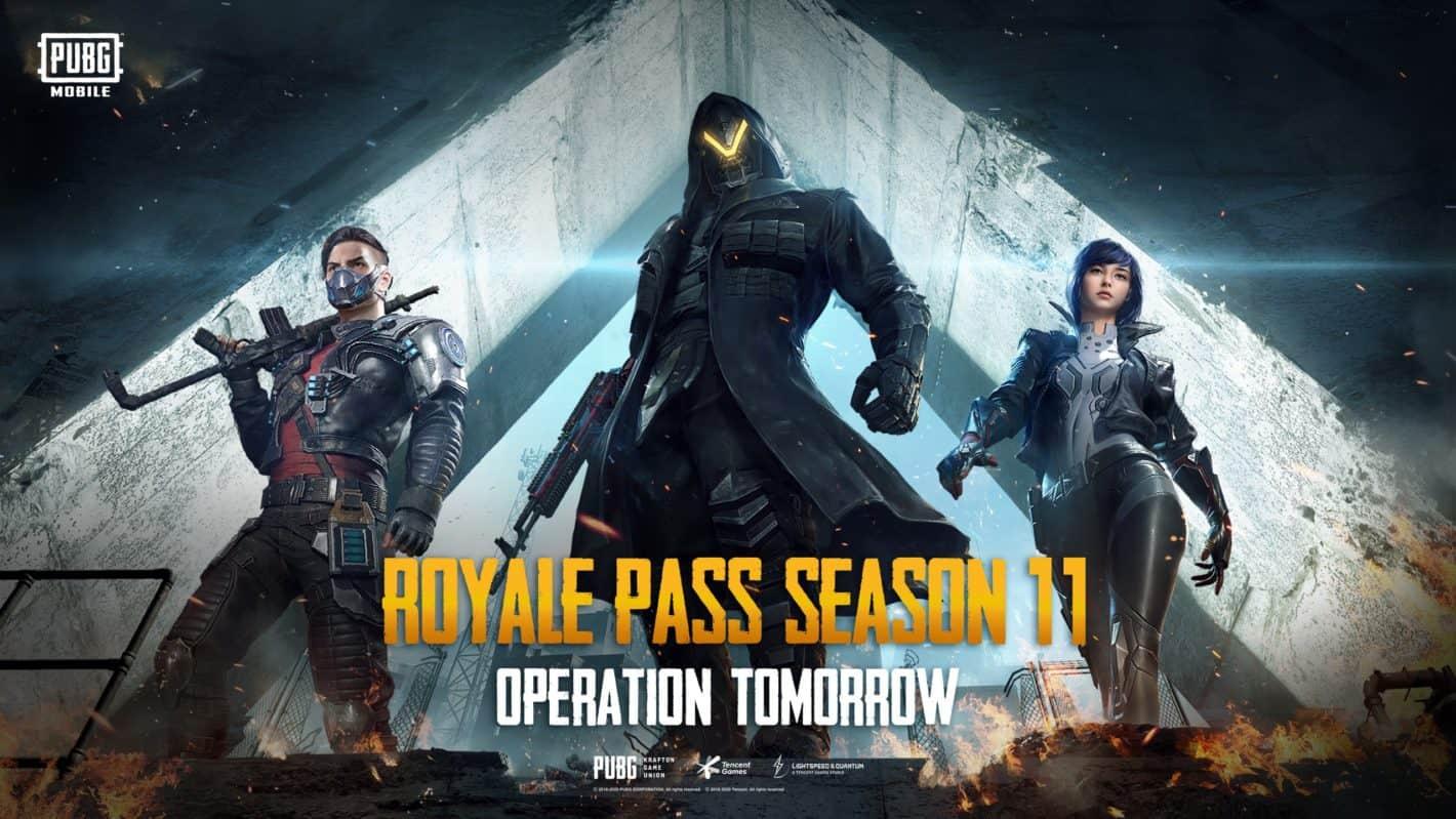 Royale Pass Season 11 Banner