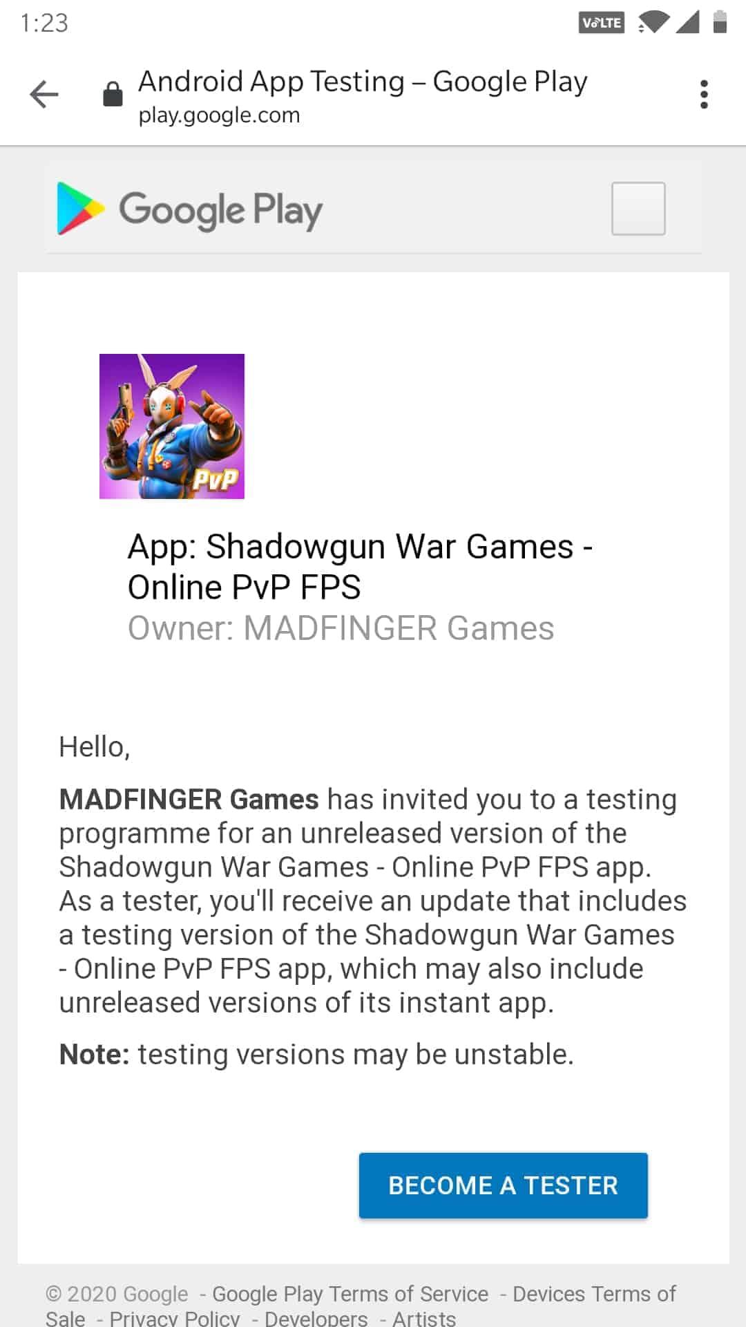 SHGWG Beta Invites 1 1
