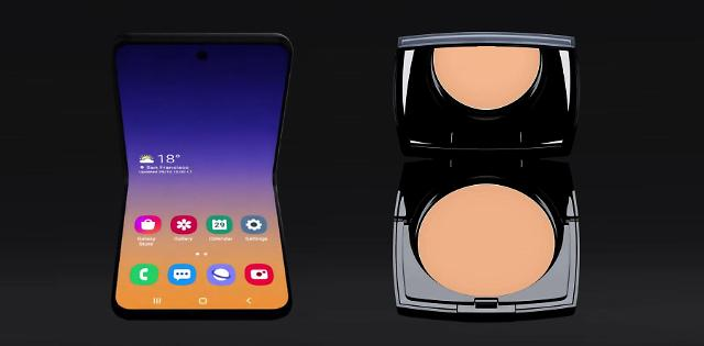 Samsung Galaxy Bloom inspired by Lancome products