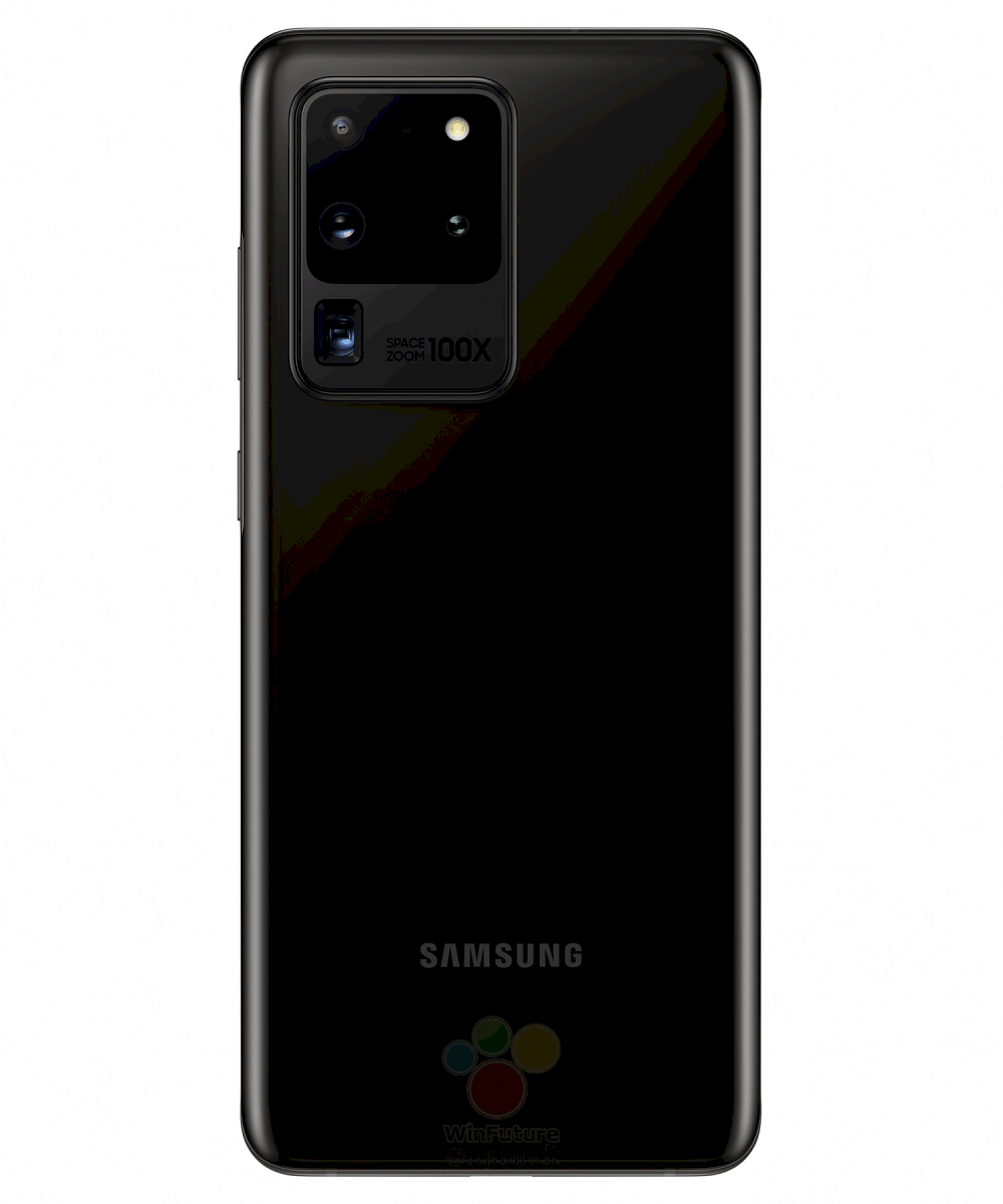 Samsung Galaxy S20 Ultra Cosmic Black marketing image leak 3