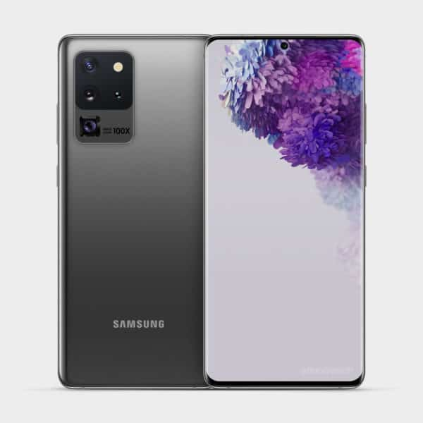 Samsung Galaxy S20 Ultra concept render based on leaks