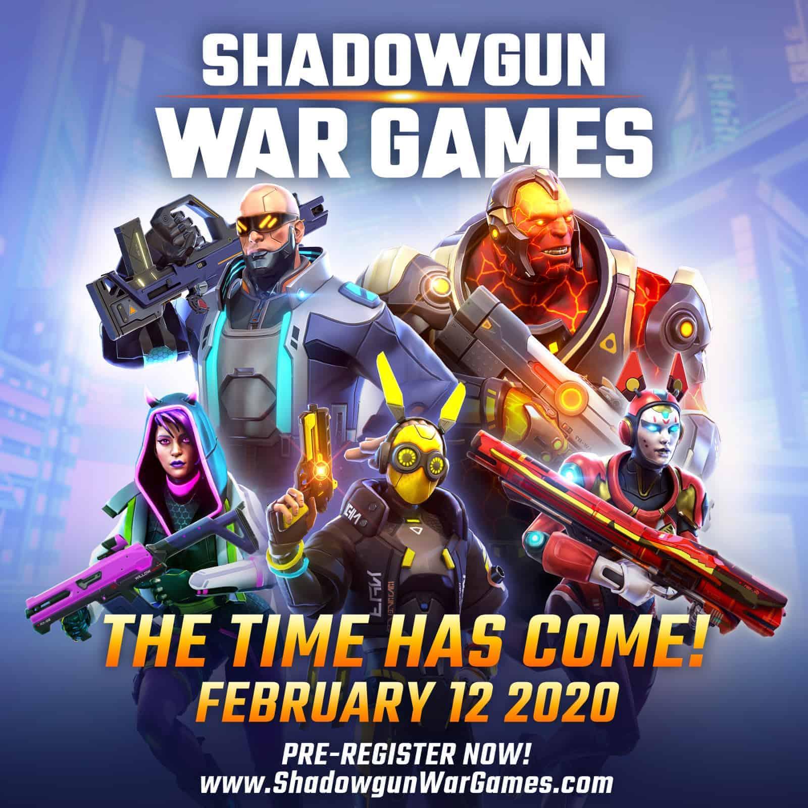 Shadowgun War Games Release Date