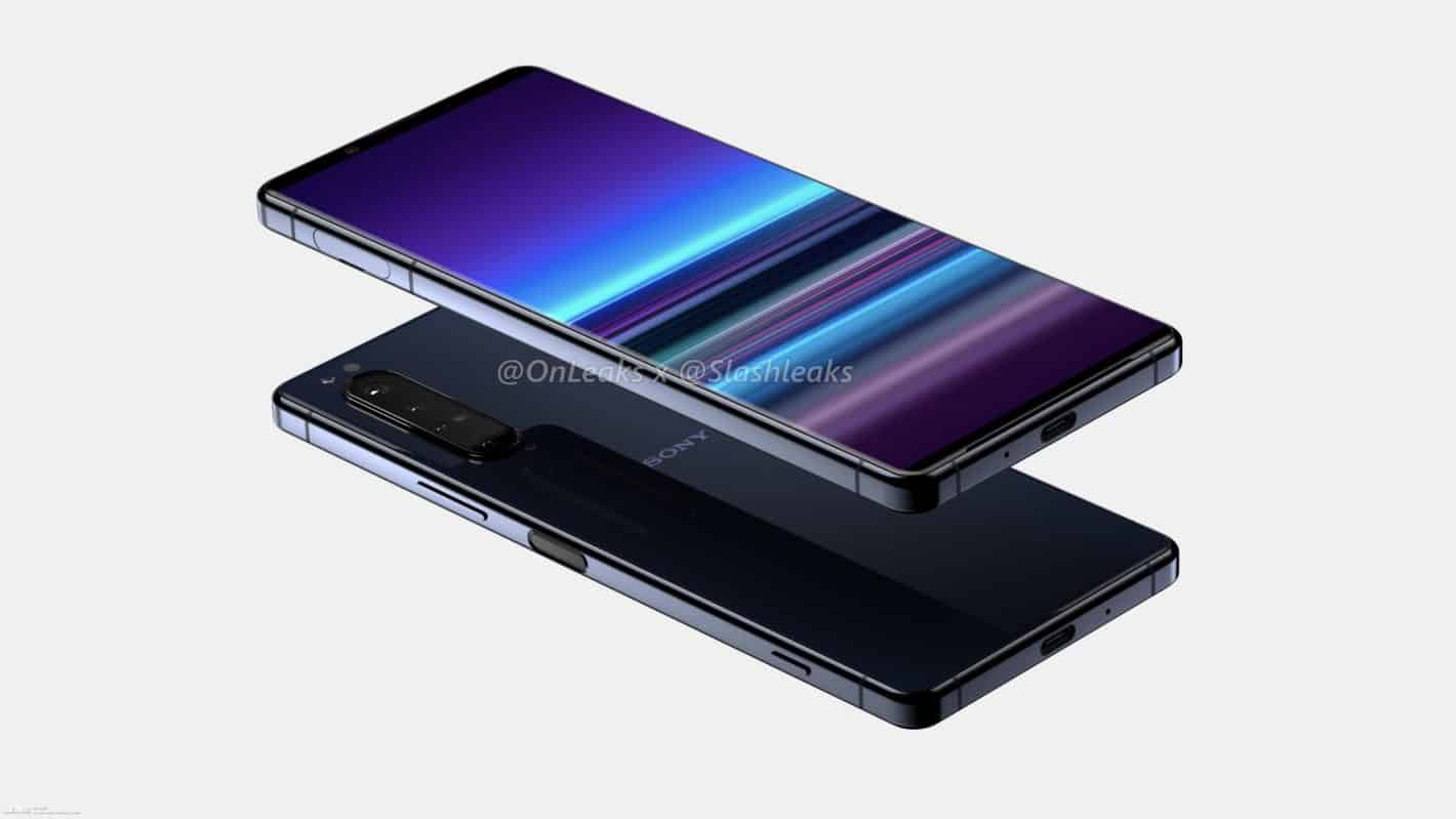 Sony Xperia 5 Plus renders leak 3