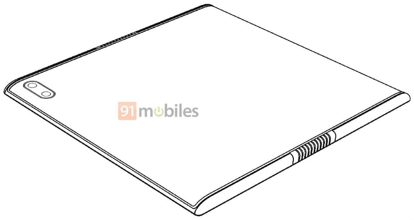 Xiaomi Mi MIX Fold possible design image 3