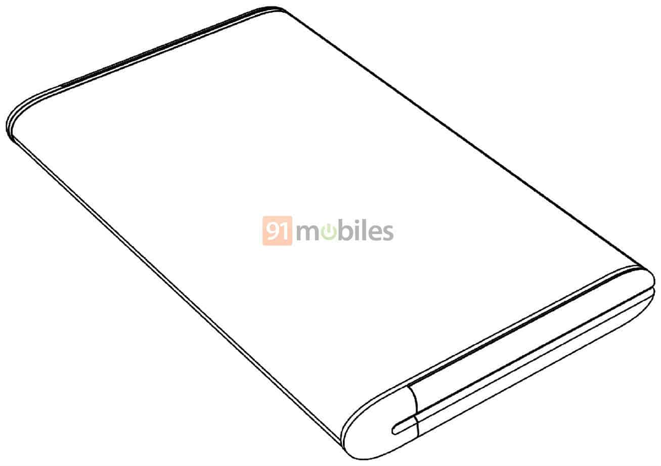 Xiaomi Mi MIX Fold possible design image 4