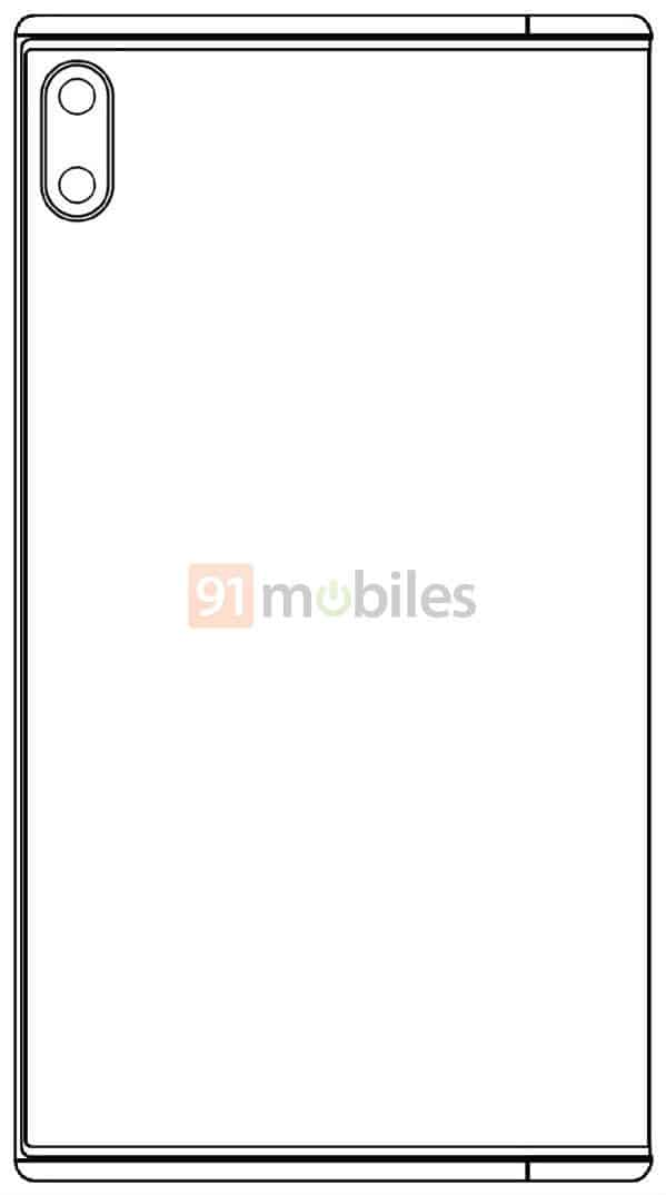 Xiaomi Mi MIX Fold possible design image 9