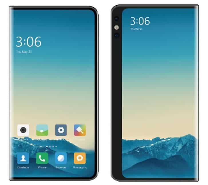 Xiaomi foldable smartphone design January 2020 image 1