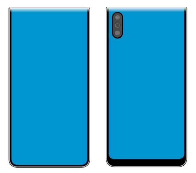 Xiaomi foldable smartphone design January 2020 image 2