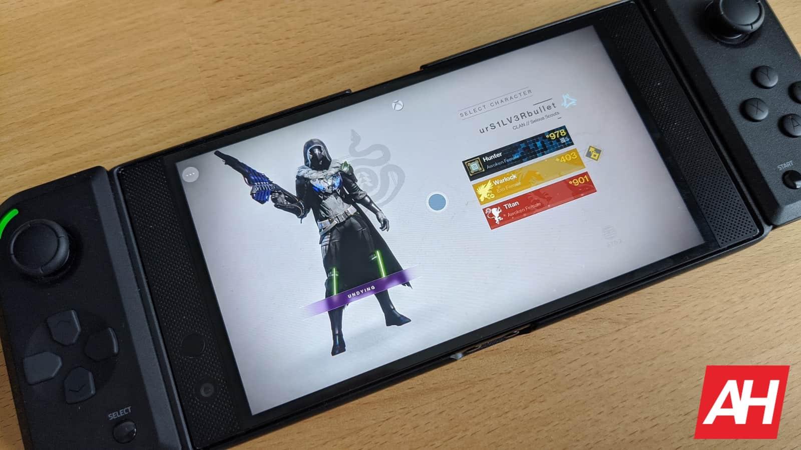 xCloud Destiny 2