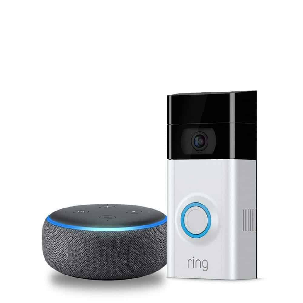 Ring Video Doorbell 2 with Echo Dot (3rd Gen) - Amazon
