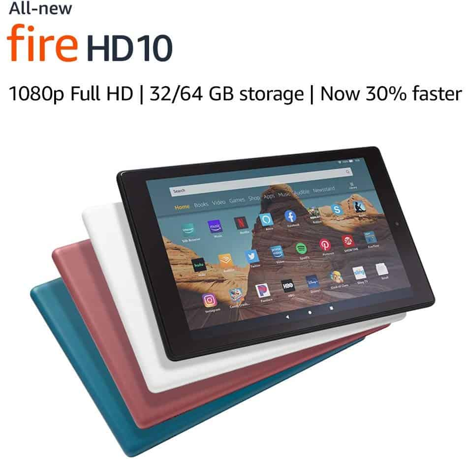 All-New Fire HD 10 Tablet - Amazon