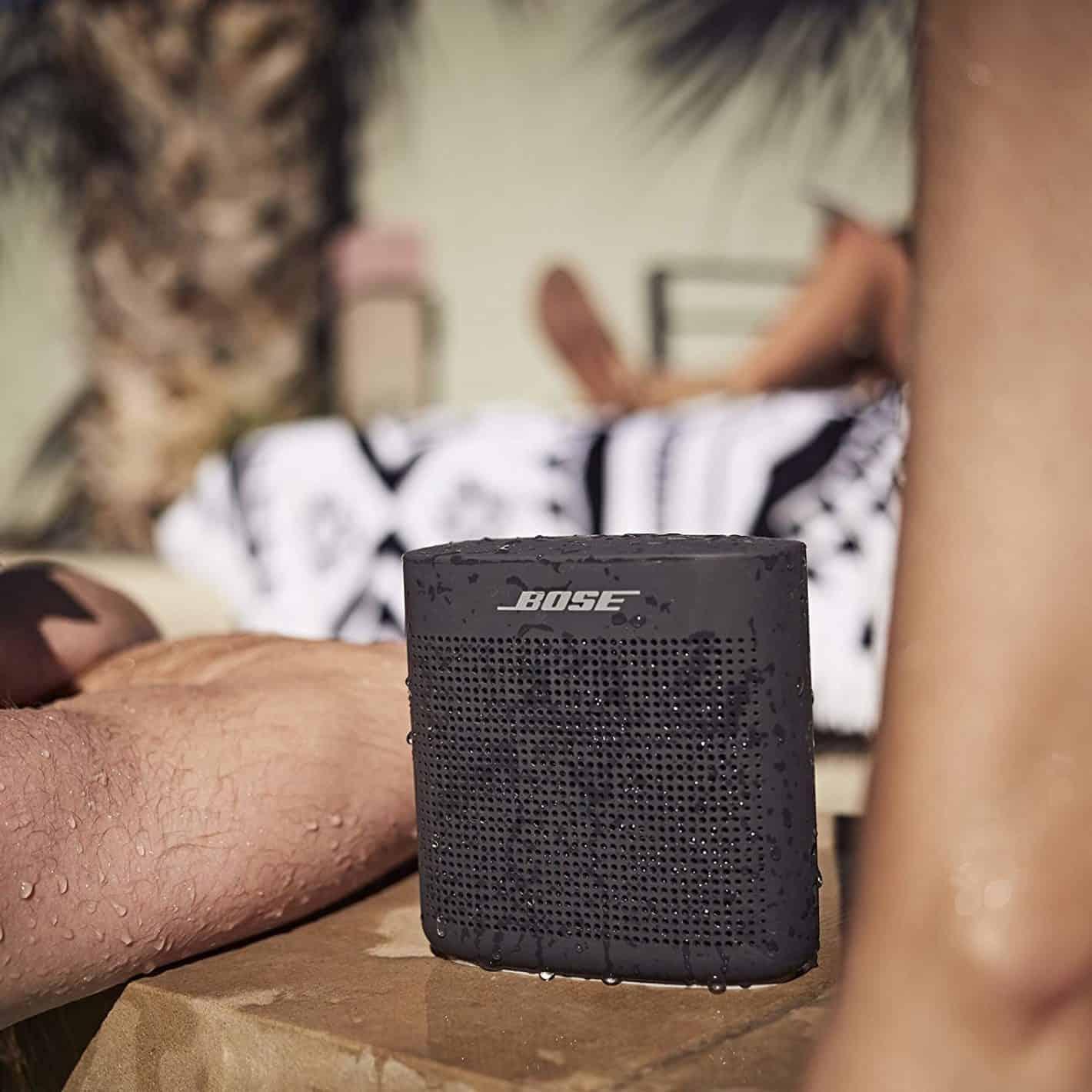 Soft black Bose SoundLink Color Bluetooth speaker II