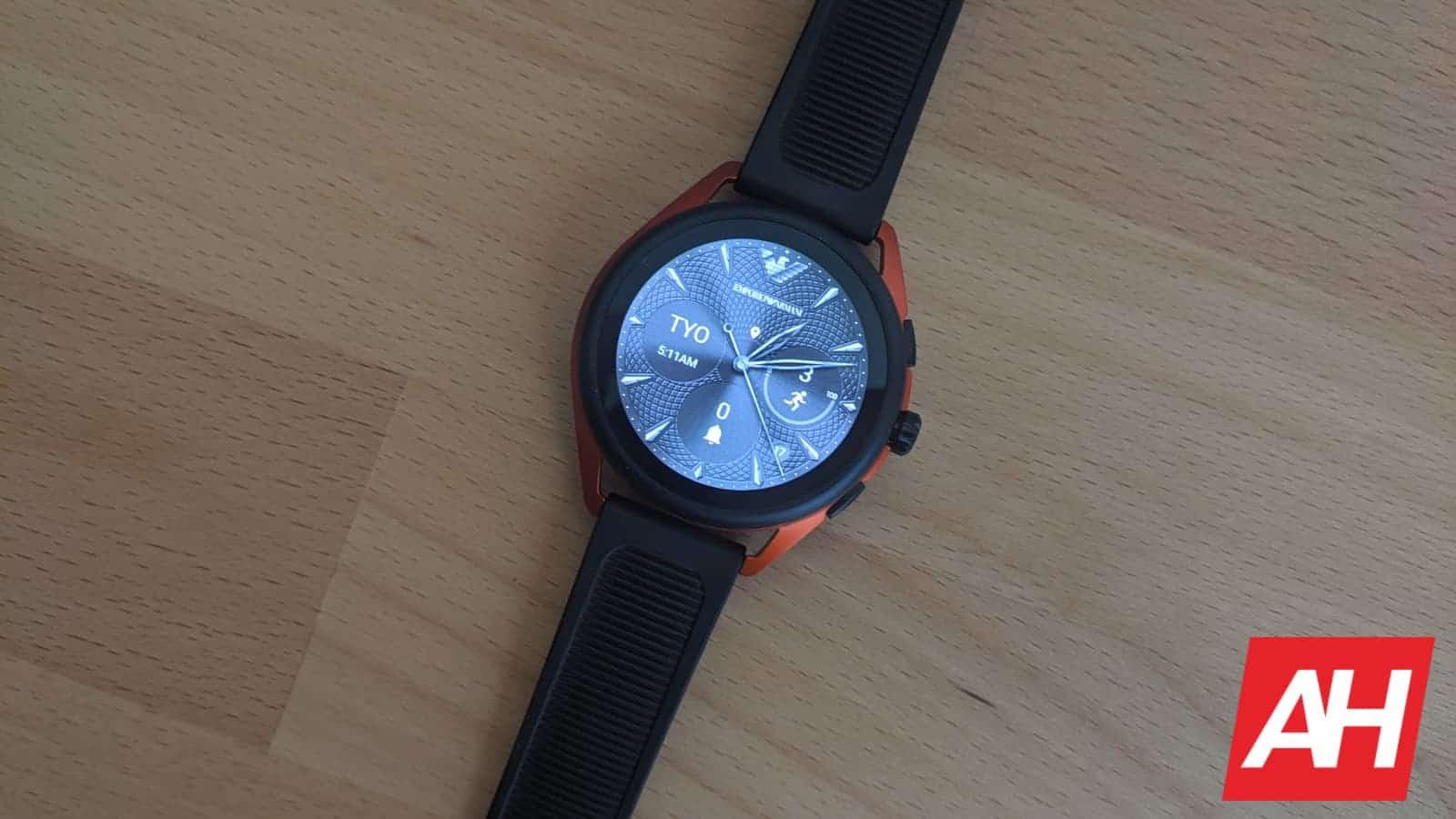 Emporio Armani Smartwatch 3 Review 11