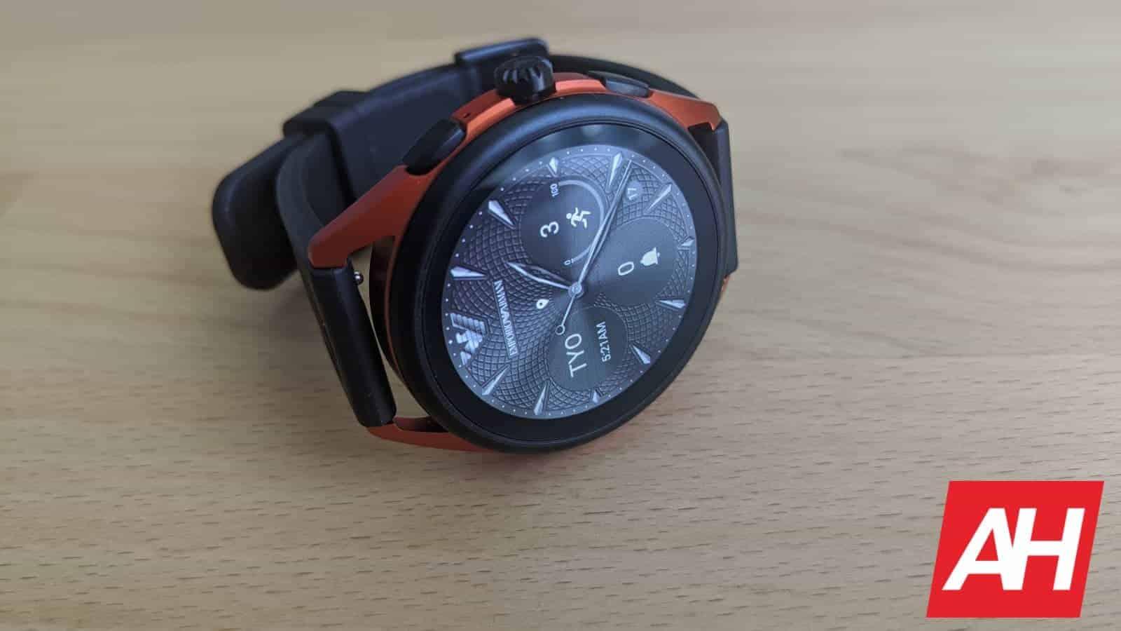 Emporio Armani Smartwatch 3 Review 3