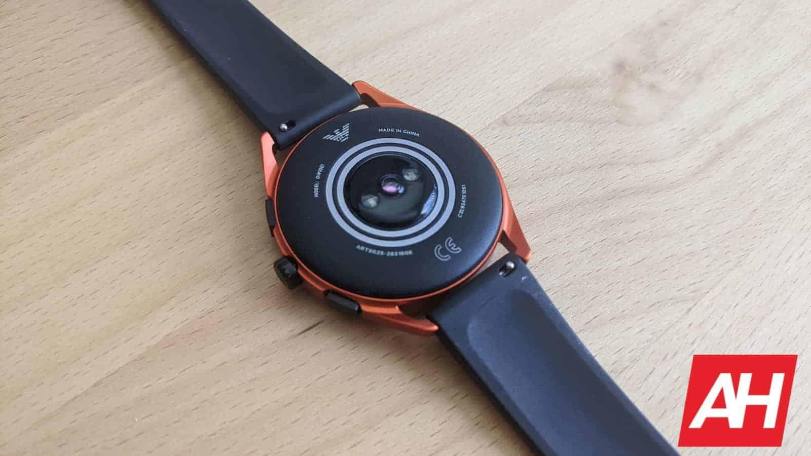 Emporio Armani Smartwatch 3 Review 6