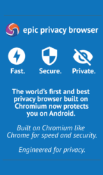 Epic Privacy Browser app image 1
