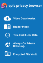 Epic Privacy Browser app image 10