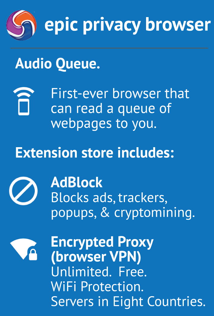 Epic Privacy Browser app image 11