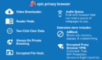 Epic Privacy Browser app image 8