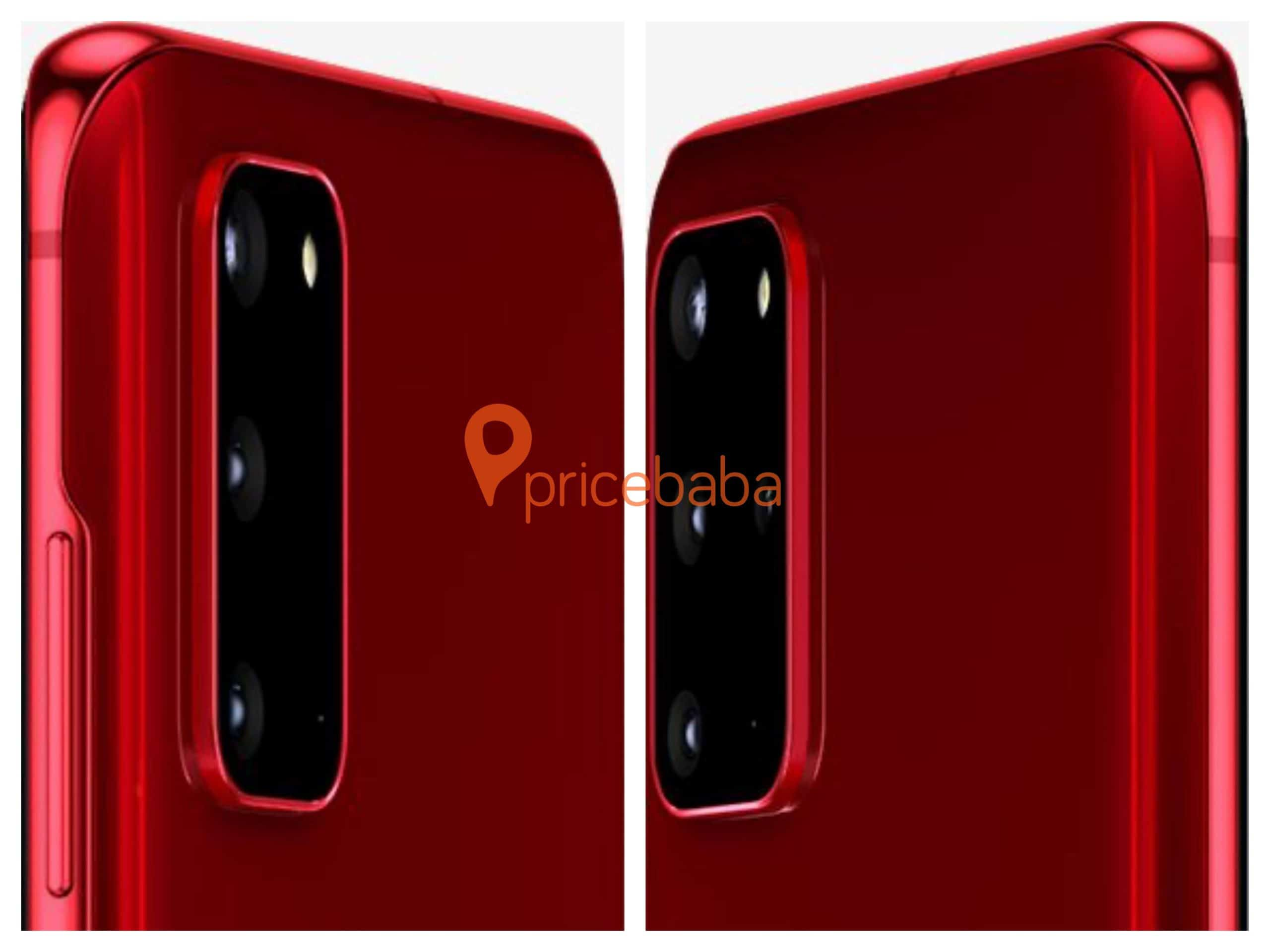 Galaxy S20 and S20 Plus unannounced red variants 1