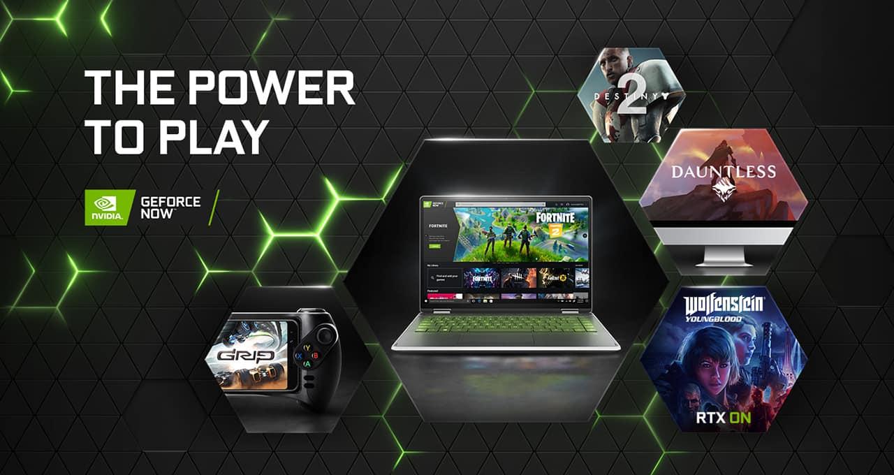 GeForce NOW Key Visual