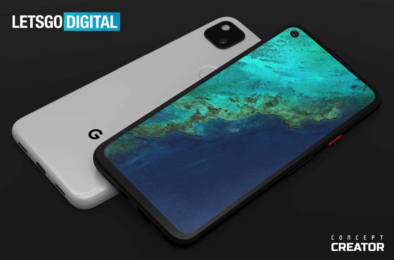Google Pixel 4a concept image 1