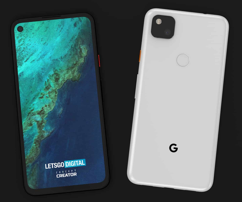 Google Pixel 4a concept image 4