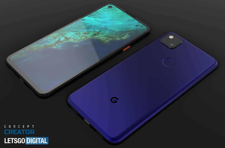 Google Pixel 4a concept image 5