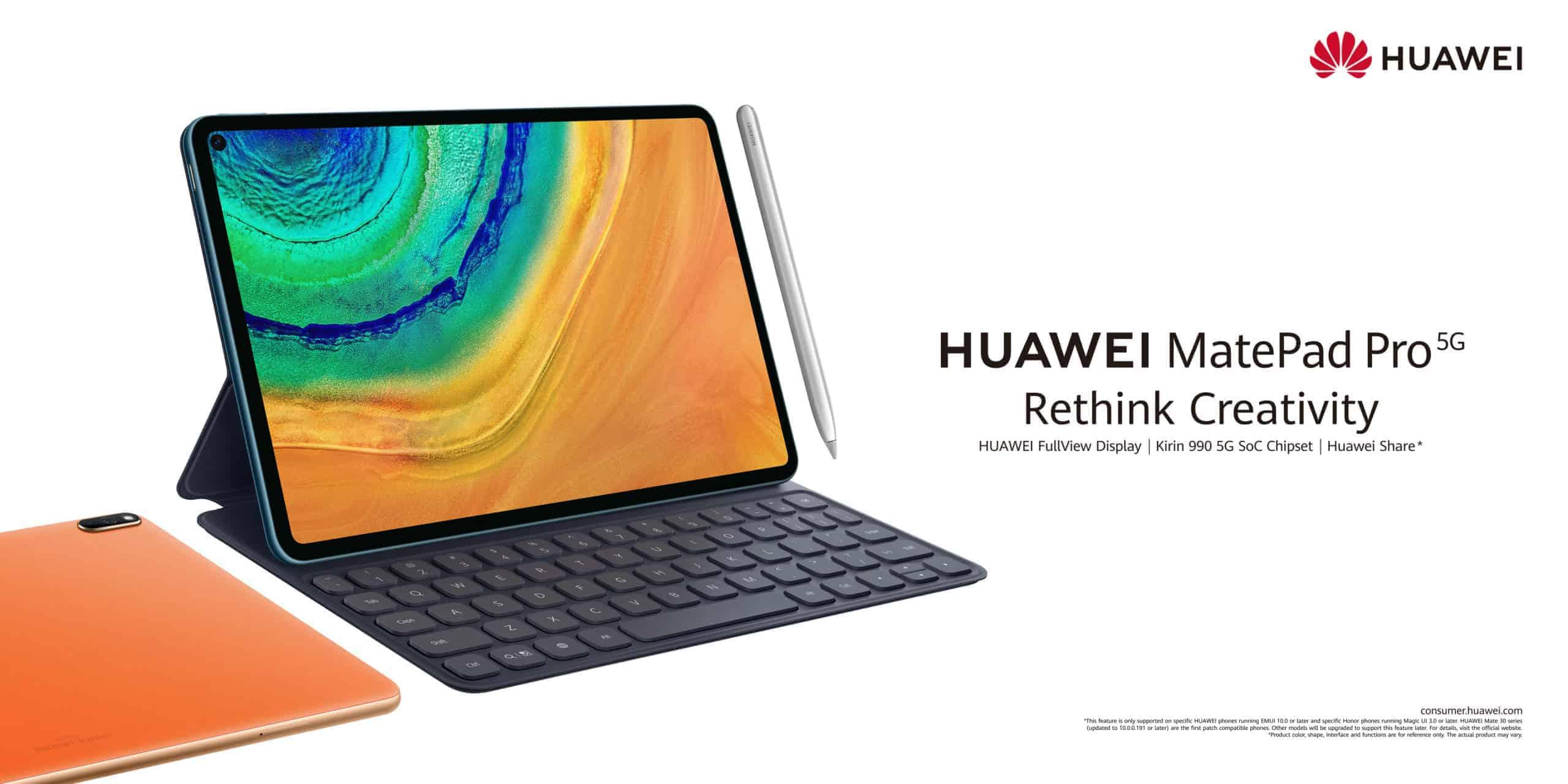 MatePad Pro 5G Horizontal