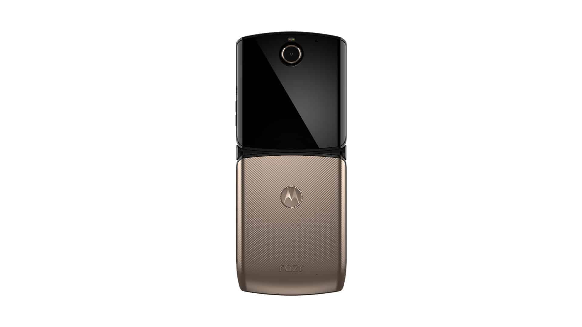 Motorola Razr Gold Color 1
