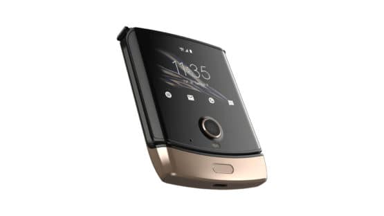 Motorola Razr Gold Color 2