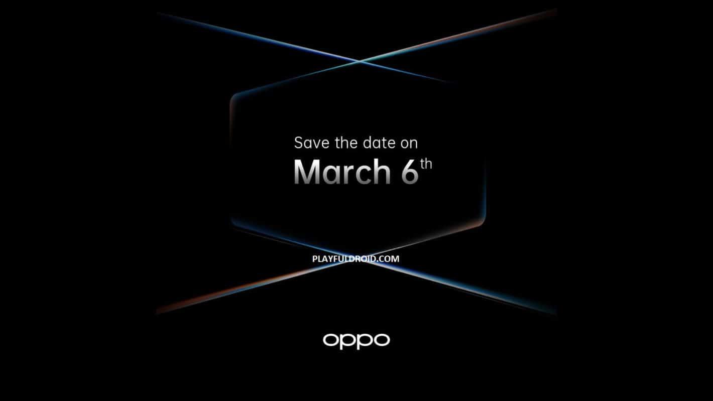 Le lancement du vaisseau amiral de l'OPPO Find X2 est reporté au 6 mars