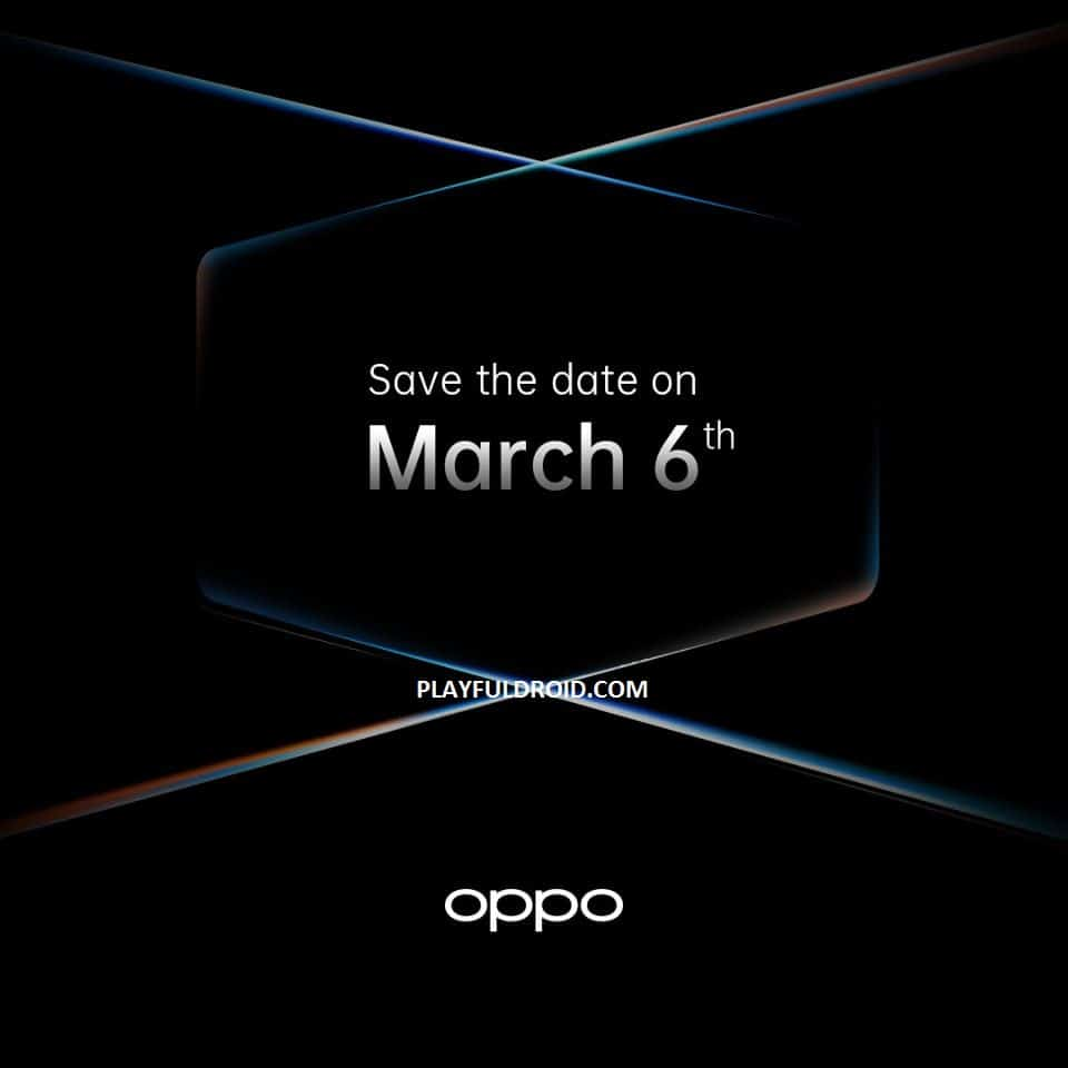 OPPO Find X2 March 6 event