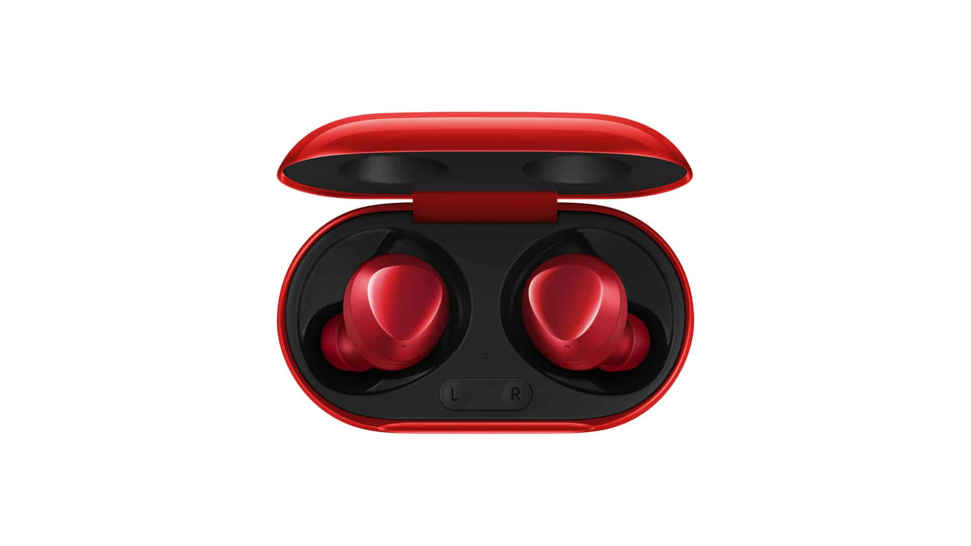 Have A Look At The Samsung Galaxy Buds+ In Red