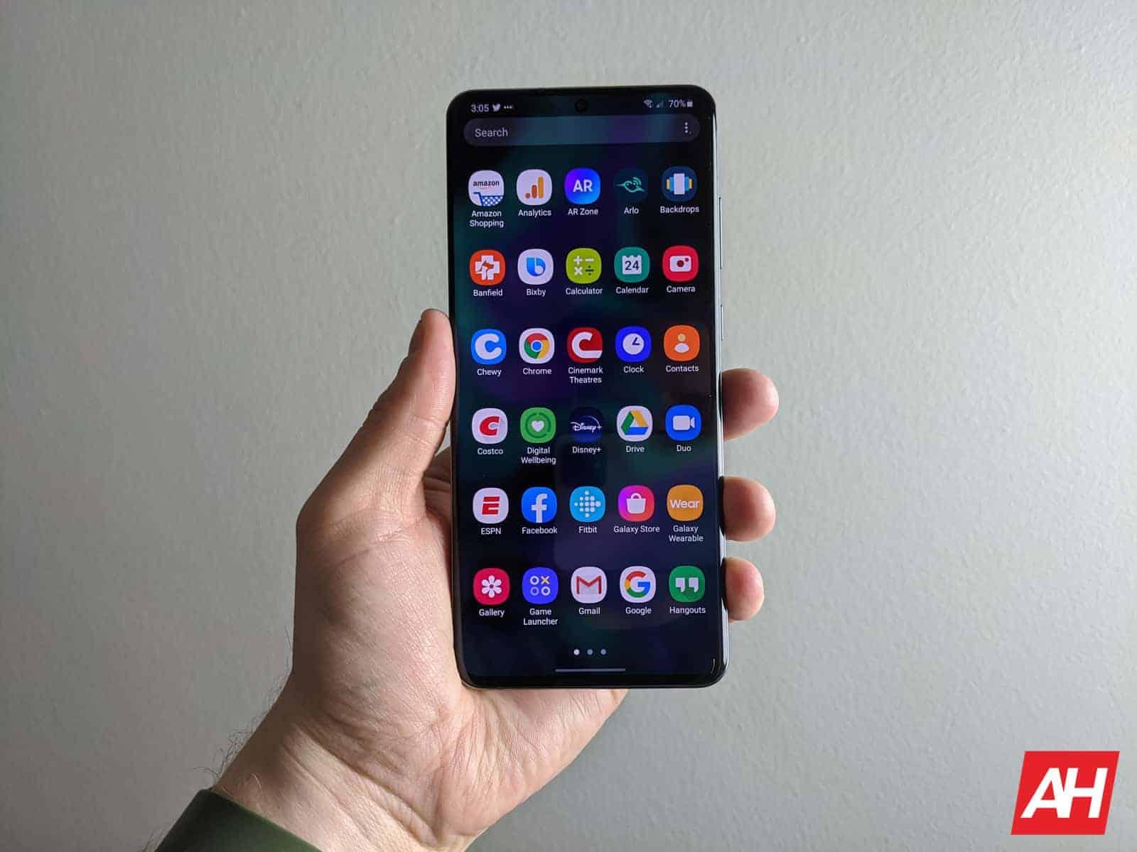 Samsung Galaxy S20 Ultra Review AM AH 3
