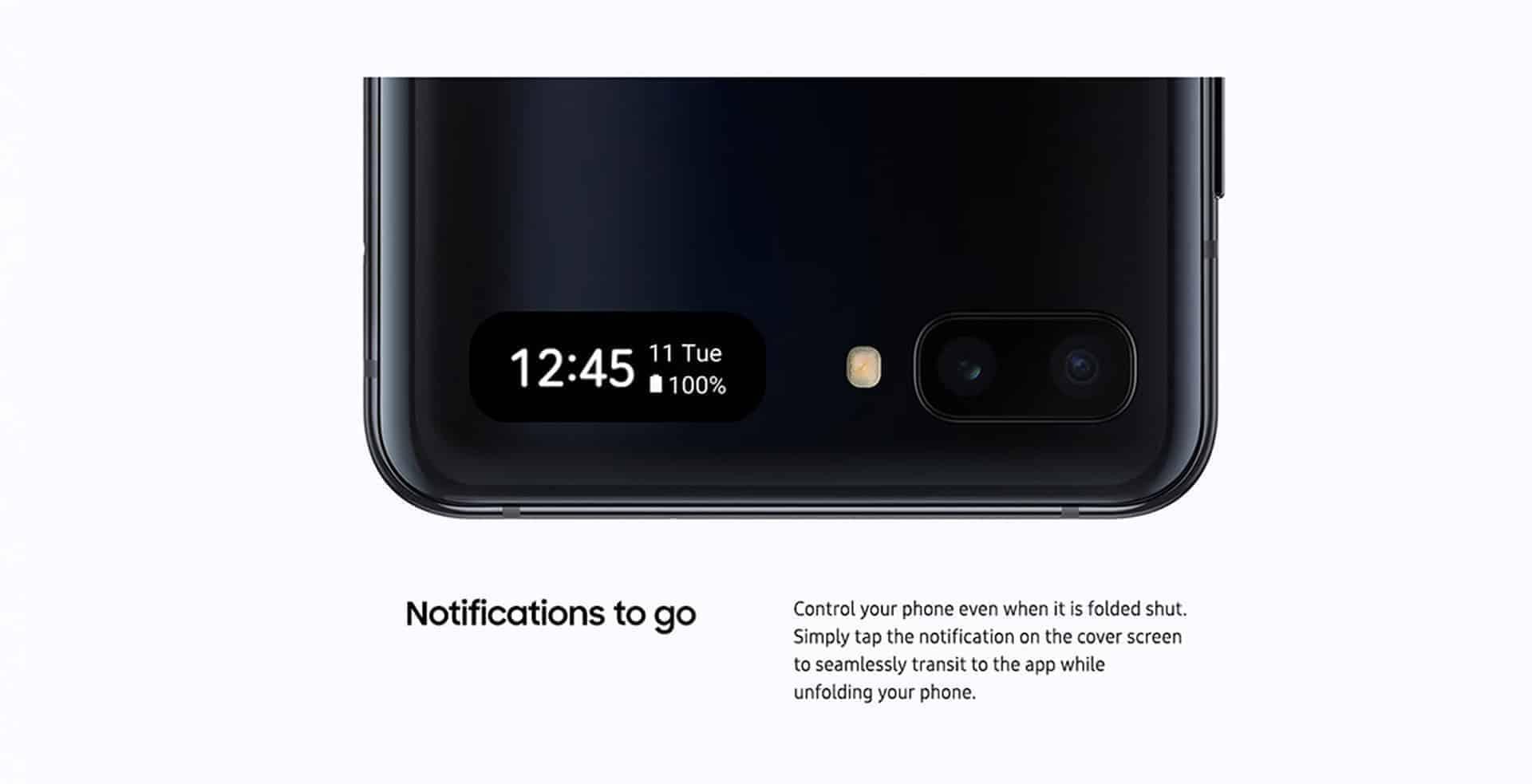 Samsung Galaxy Z Flip marketing image 2