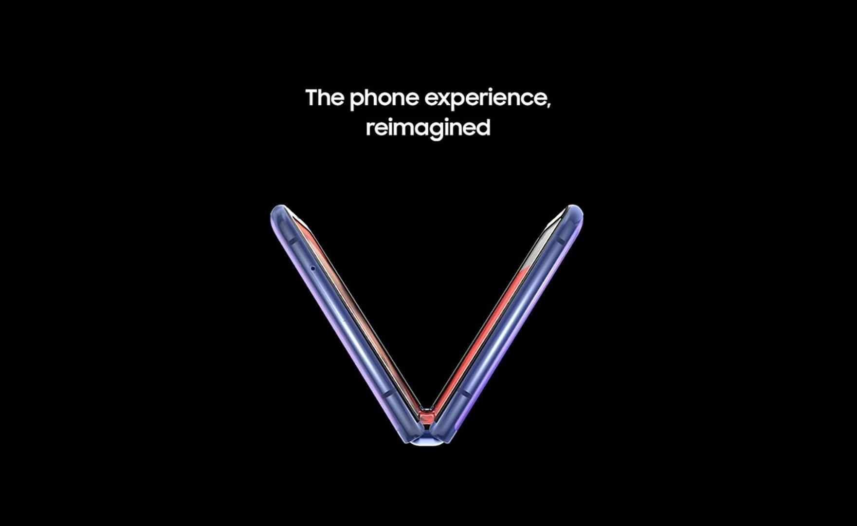 Samsung Galaxy Z Flip marketing image 5