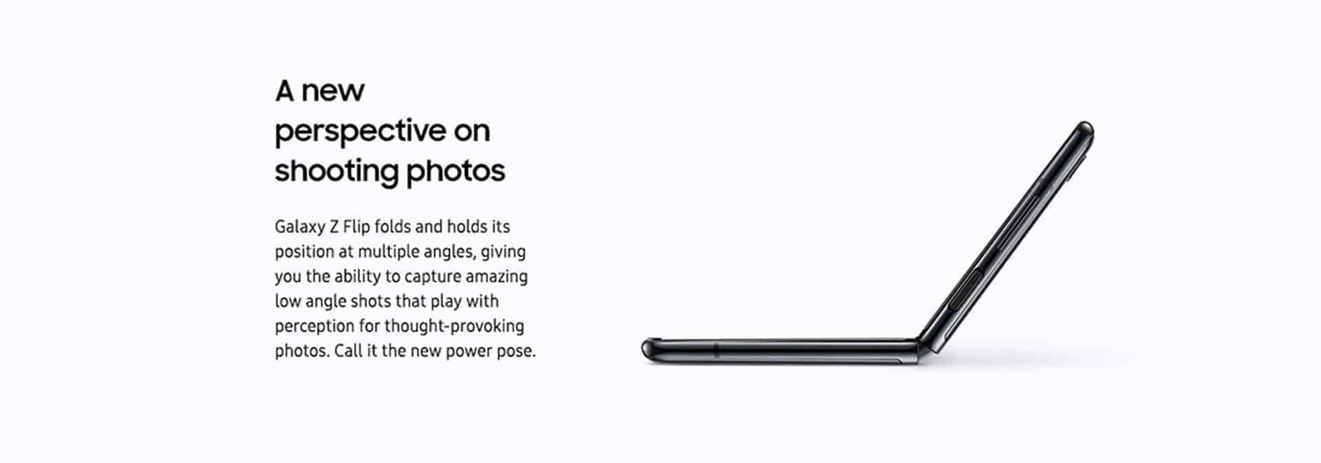 Samsung Galaxy Z Flip marketing image 6