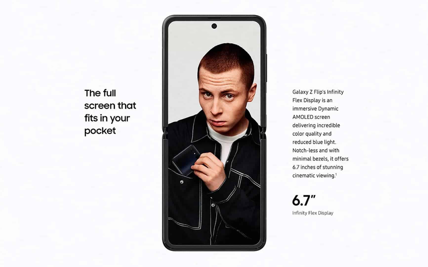 Samsung Galaxy Z Flip marketing image 8