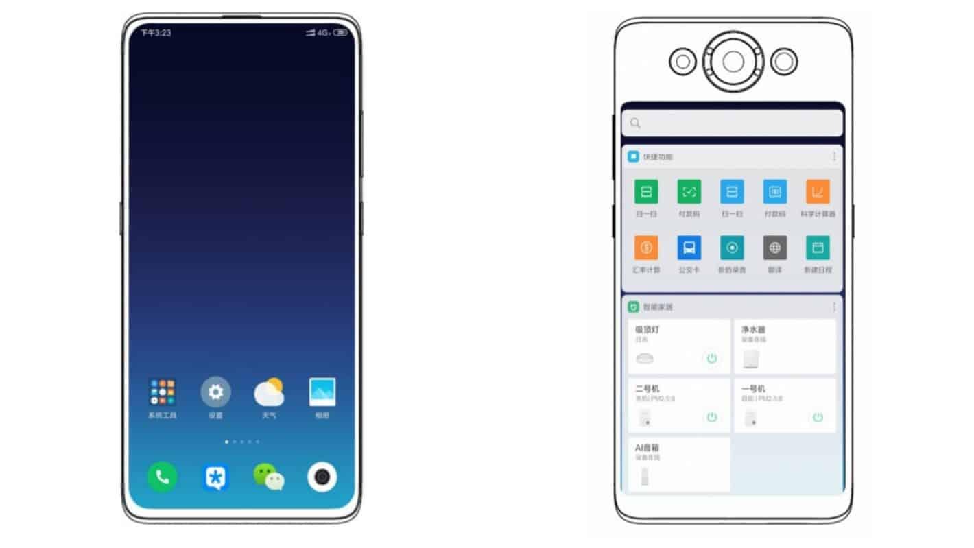 Xiaomi développe un smartphone à deux écrans, un brevet le suggère