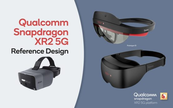 qualcomm snapdragon three devices xr2 5g reference design