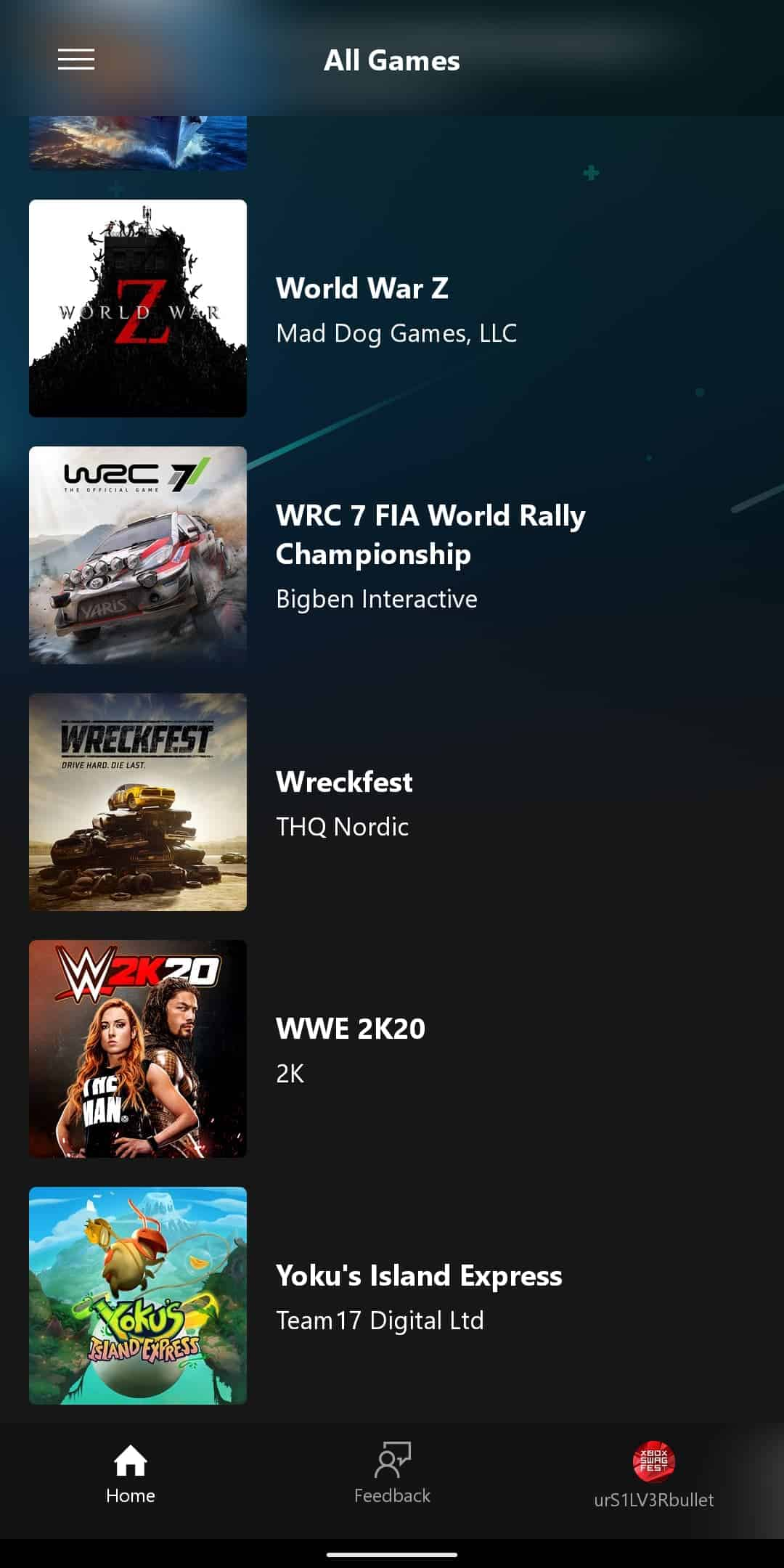 xCloud Games List 1