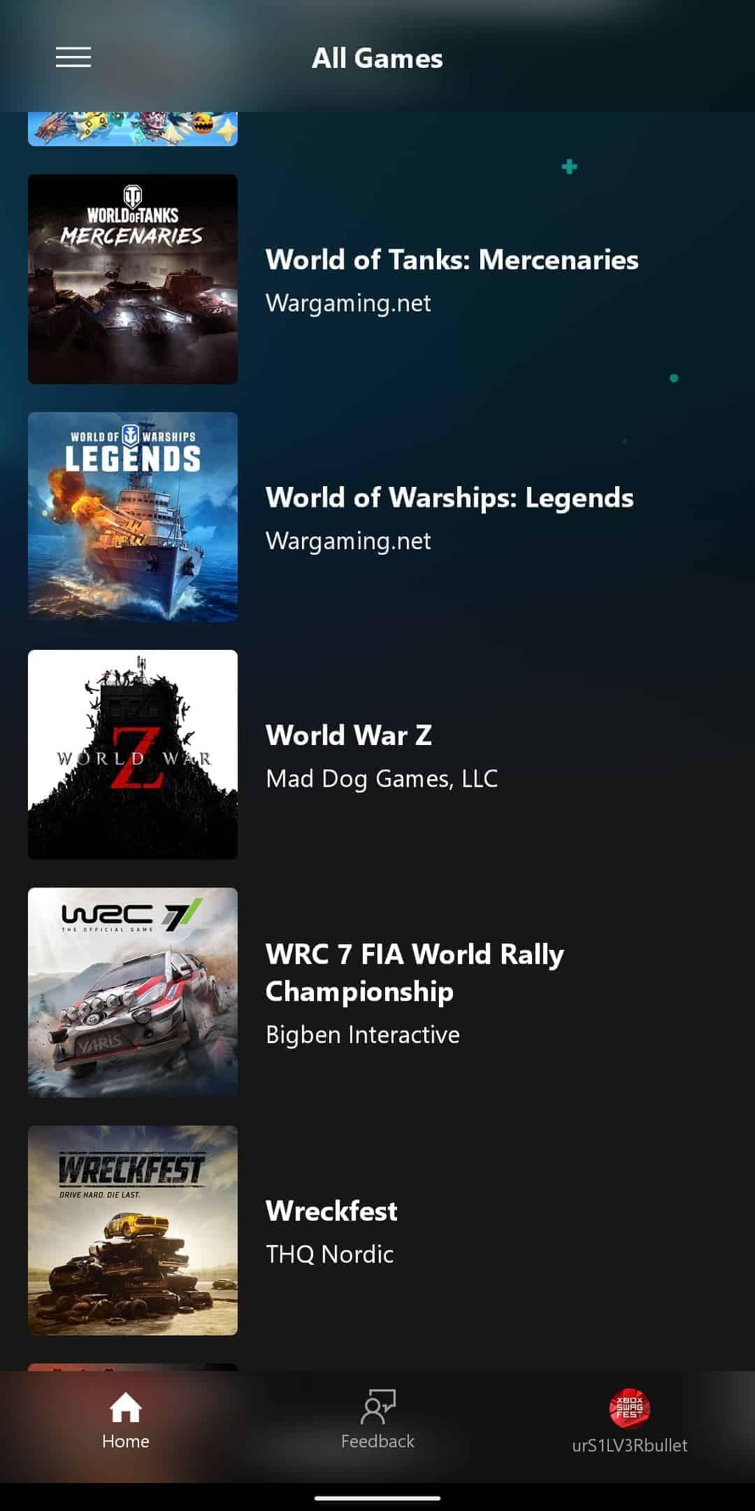 xCloud Games List 10