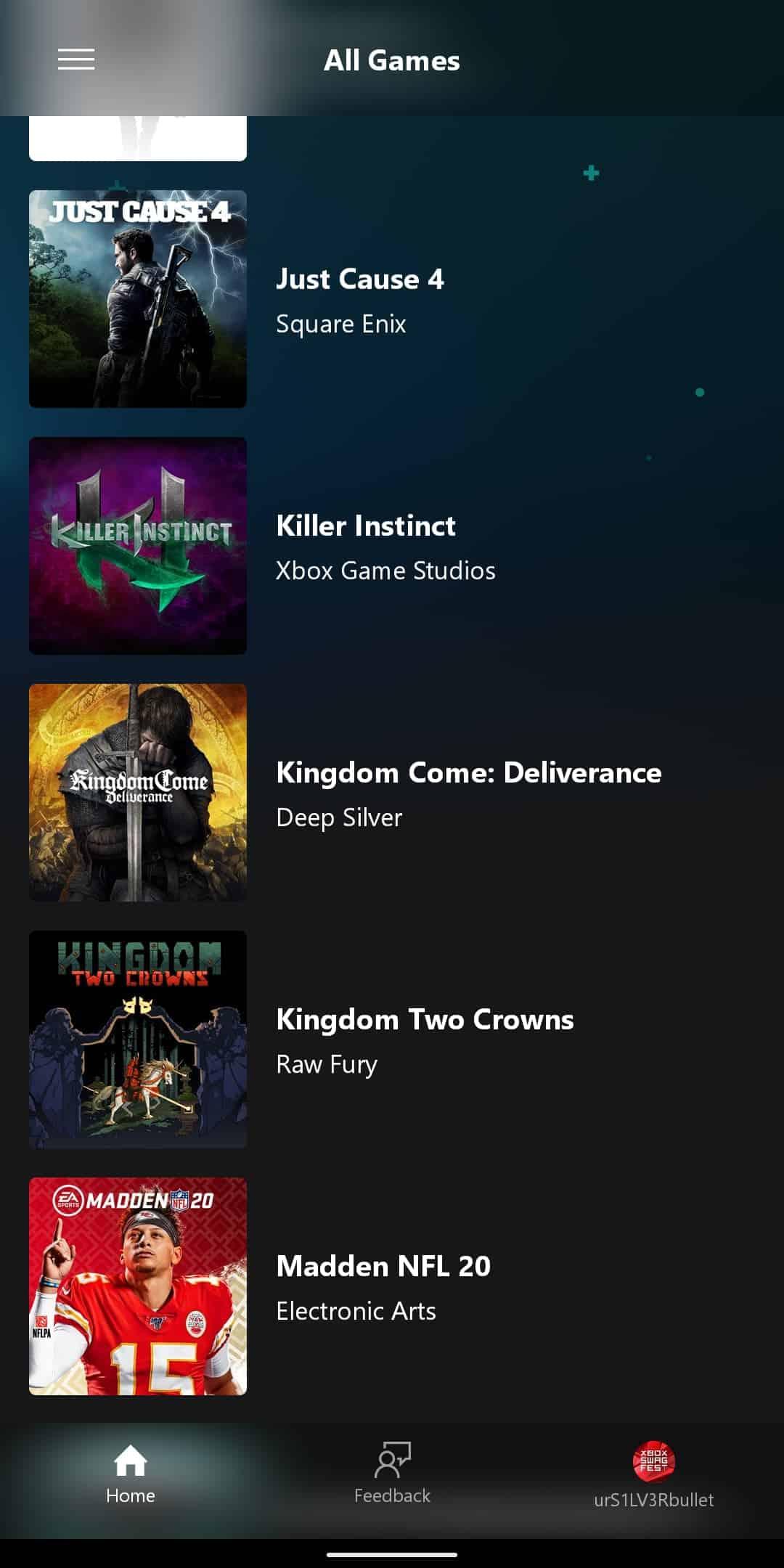 xCloud Games List 11
