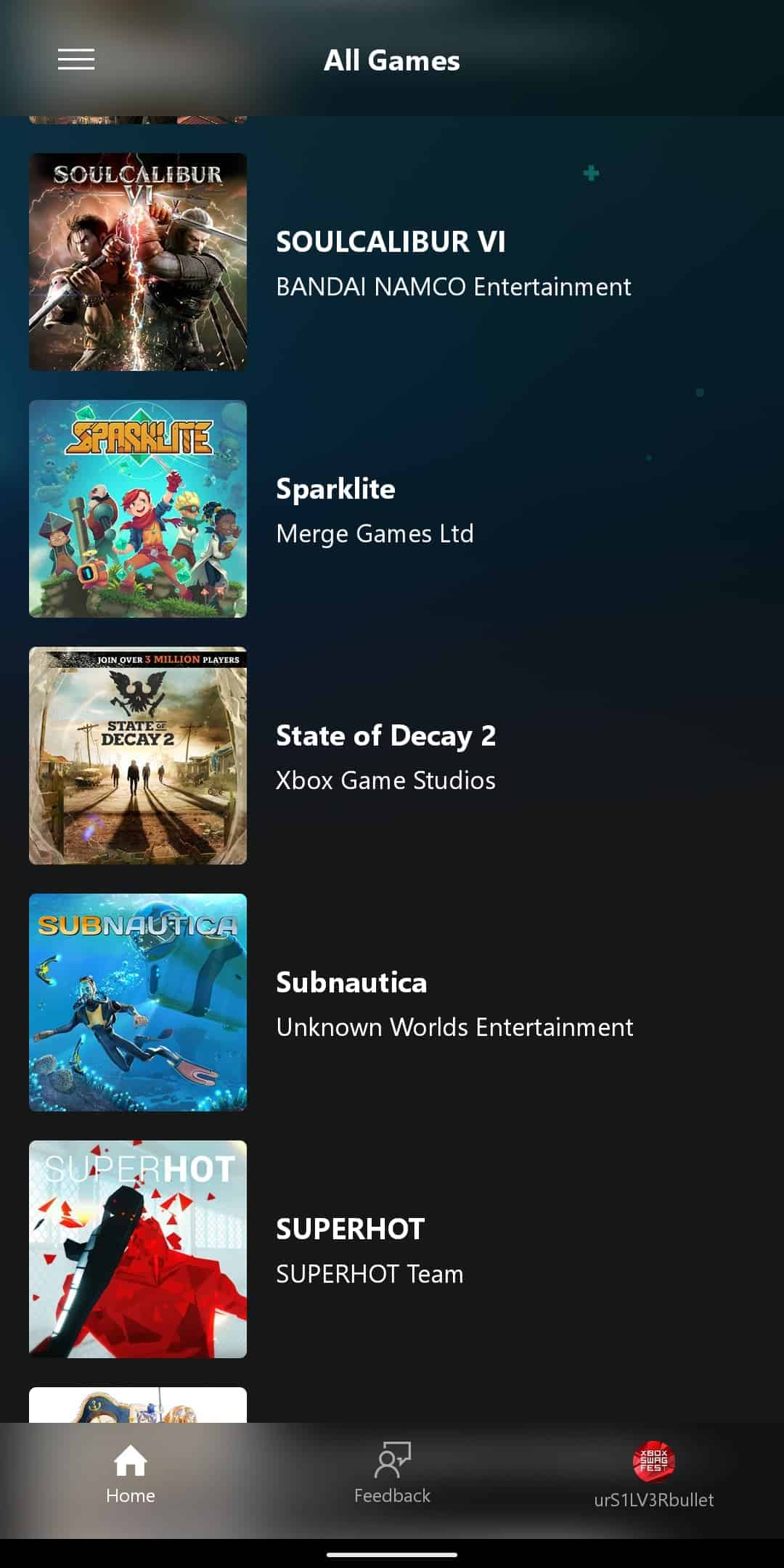xCloud Games List 15