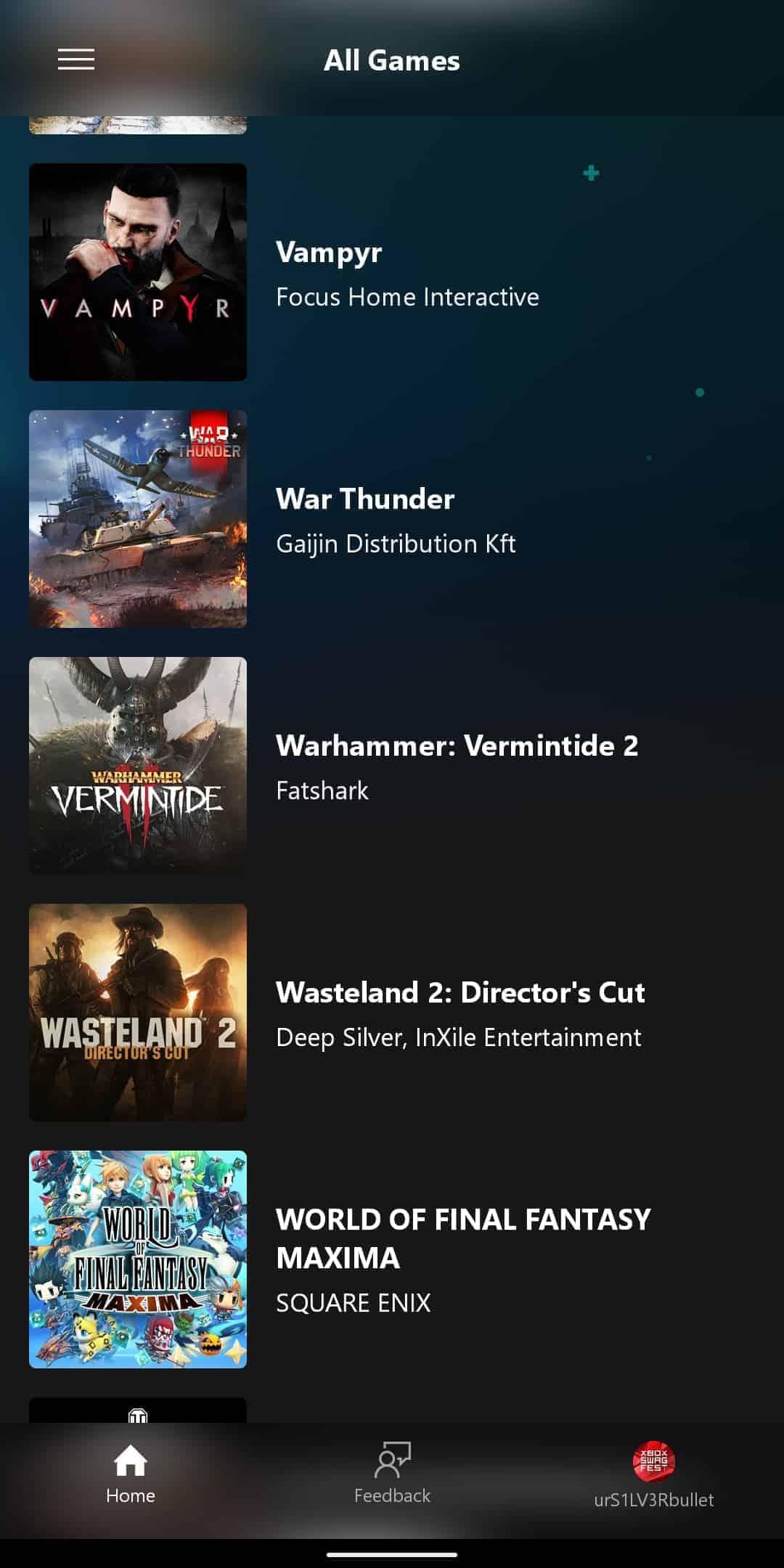 xCloud Games List 18