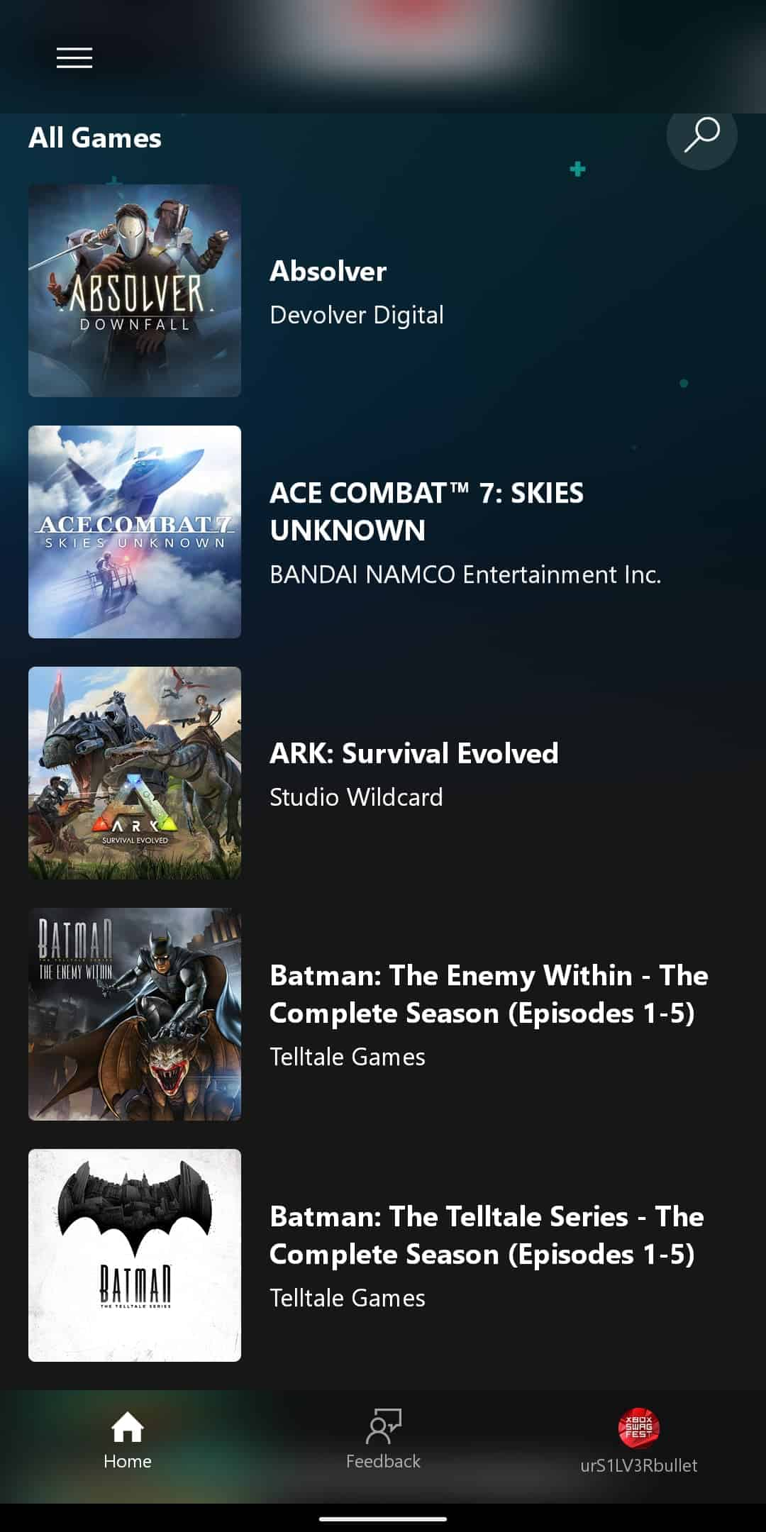 xCloud Games List 2